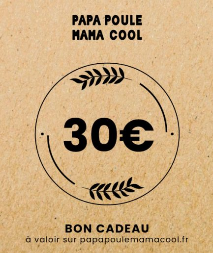 bon cadeau Papa Poule Mama Cool